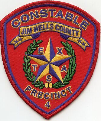 JIM WELLS COUNTY TEXAS TX SHERIFF POLICE PATCH