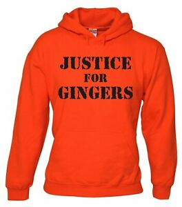 JUSTICE FOR GINGERS funny red head ginger hair joke tee NEW Boys Girls T SHIRT