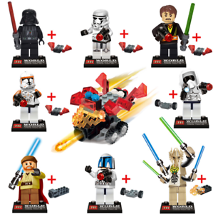 Bausteine-Krieg-Soldat-Krieger-Figur-Gift-Toys-Spielzeug-Modell-Geschenk-9PCS