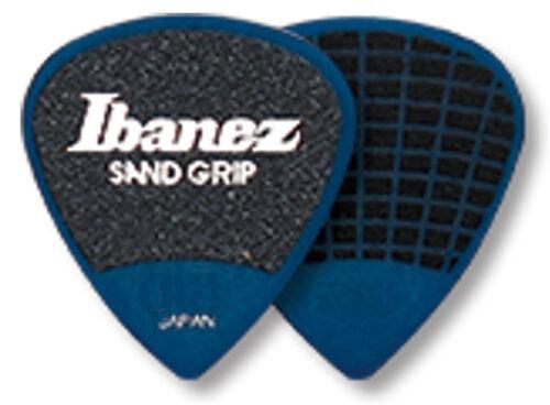 1,0 mm Ibanez Sandgrip Plektren PA16HSG-DB Grip Wizard 6er Pack blau