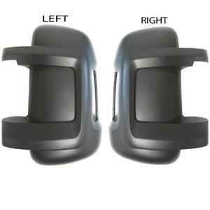 CITROEN-Relay-Ala-Cubierta-de-espejo-negro-para-arma-corta-izquierda-amp-lado-derecho-2006-en