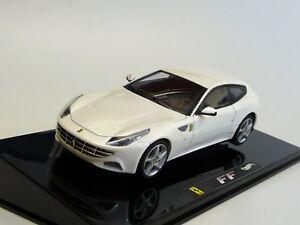 Ferrari-Ff-Met-weis-Hot-Wheels-Elite-W1190-Nuevo-en-Embalaje-Original-1-43