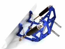 Integy Snow Plow Blade Kit Axial SCX10 RC Crawler 1/10 CNC Aluminum 4x4 Blue