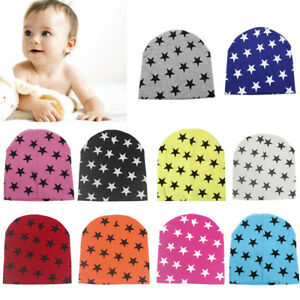 Apparel Accessories Boy's Scarves Fashion Baby Kids Winter Autumn Warm Hat Earflap Cap Wit Stars Pattern 100% Original