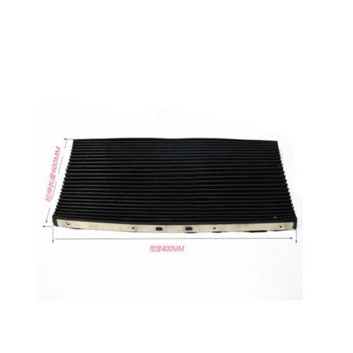 Milling Part 400*600 Front Accordion Type Retractablel Dust Cover For Bridgeport