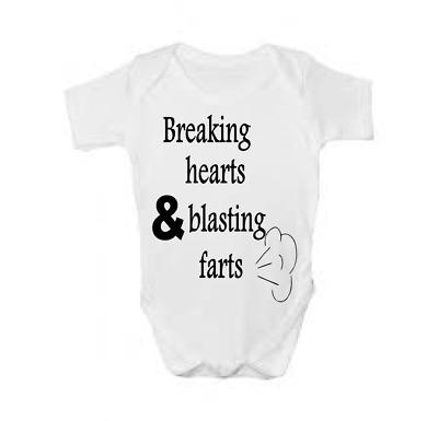 Breaking Dad Funny Personalised Baby//Toddler Vest Newborn Gift Bodysuit//Grow