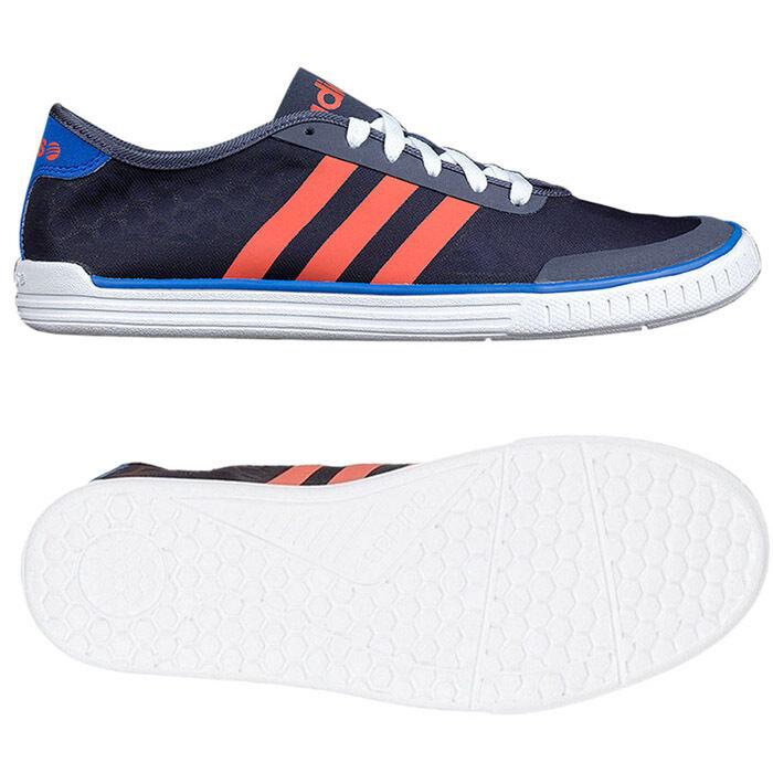 Adidas neo estremamente facile tech scarpe formatori estremamente neo leggero uomini blu. b8545c