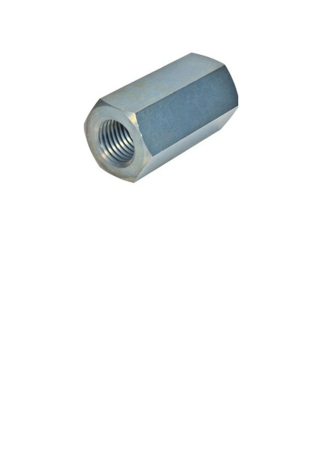 DIN6334 Sechskantmutter 3d hoch Edelstahl A2 A4 M5x15,M8x24,M14x42, M20x60