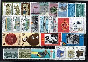 ++ Alemania / Germany  DDR sellos usados lote 02