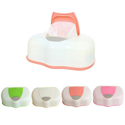 Wet Tissue Paper Case Care Baby Wipes Napkin Storage Box Holder ContainerGAA ZV