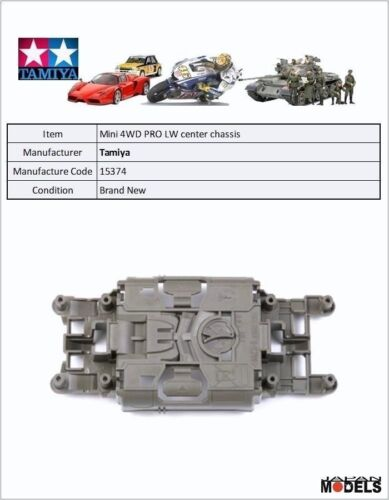 FOR MS CHASSIS Mini 4wd LIGHTWEIGHT CENTER CHASSIS Tamiya 15374 New Nuovo