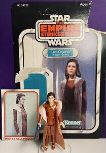 Star-Wars-Vintage-Princess-Leia-Bespin-1980-W-Cardback-Kenner-Action-Figure
