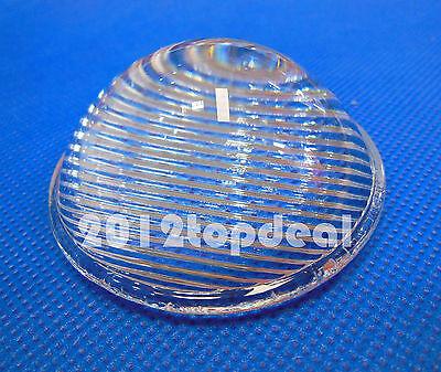 51mm Striped Convex Glass Led Lens Reflector Collimator for Led Flashlight DIY