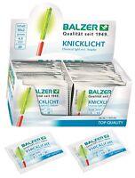 Balzer Frische Knicklichter Neu 8 20 50 100 200 400 Stück Knicklicht Box Karton