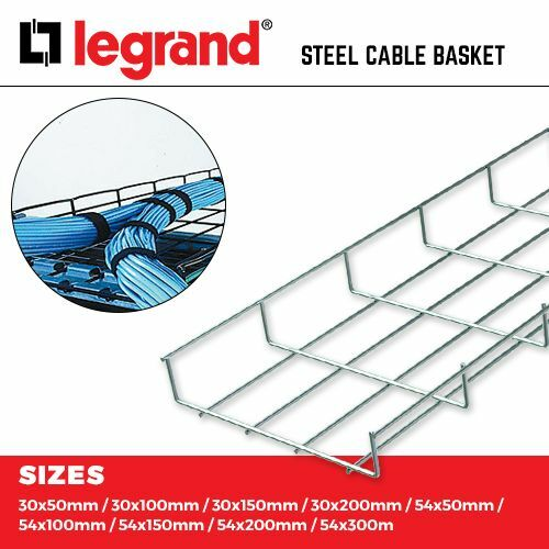 300MM CABLOFIL STEEL WIRE CABLE TRAY 3M LENGTHS LEGRAND CABLE BASKET 50MM