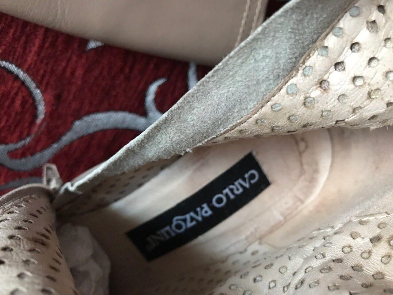 Authentic Carlo pazolini Talla 36 se ajusta a 6 nos Mujer para Mujer nos botas De Tacón Alto Beige 6f4010