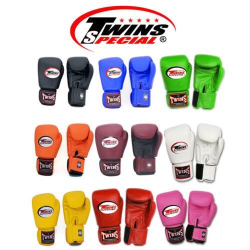 Twins Special Muay Thai Boxing Gloves BGVL-3 8 10 12 14 16 oz
