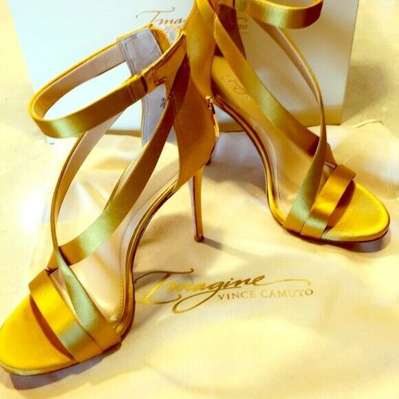 BRAND NEW Vince Camuto Leather Stiletto Sandal
