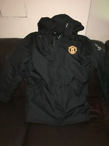 release date: 720bc 6684c Details about Manchester United Champions League Coat Jacket