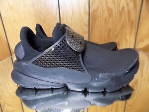 Nike Sock Dart Black on Black Size 7 Womens Running 862412 004