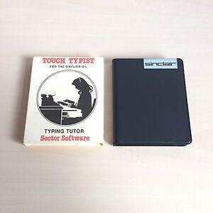Touch-tippen-Case-Huelle-Sinclair-QL-1985-Sektor-Software-VGC