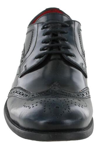 Blu Coniston Base Brogue London Occhio Scarpe Formale Uomo Da 5 Foderato Pelle r1qrUfXZ