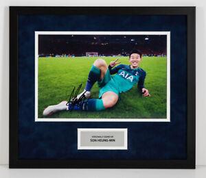 Son-Heung-min-Signed-Framed-12X8-Photo-SPURS-Genuine-Tottenham-Hotspur-AFTAL-COA