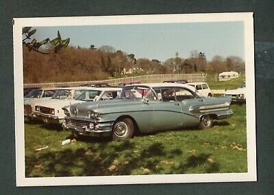 1958 NIAGARA FALLS 8X12 PHOTO AMERICANA CHEVROLET MERCURY BUICK AUTOMOBILES CARS