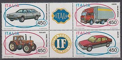 Autos ......................................... Schneidig Italien 1872/75 Zd Postfrisch