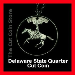 Delaware-Cut-Coin-Necklace-First-State-Independence-25-DE-Quarter
