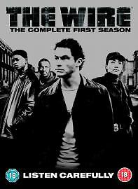The-Wire-Series-1-Complete-DVD-2005-5-Disc-Set-Box-Set