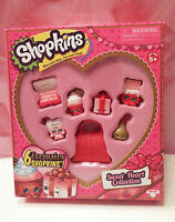 Shopkins 2016 Sweetheart Collection Valentine's Day 6 Target Exclusive Candy Toy