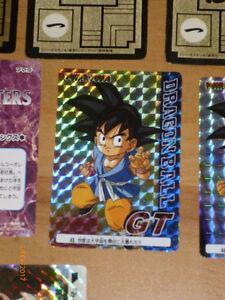 DRAGON BALL Z GT DBZ HONDAN PART 17 CARDDASS DP CARD CARTE 25  JAPAN 1993  NM
