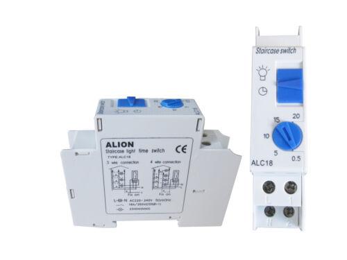Treppenlichtautomat escaleras luz//escalera tiempo interruptor alc 18