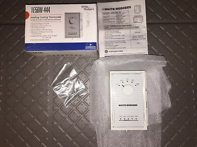 White-Rodgers 1E56W-444 Heating Cooling Thermostat w//Free Shipping