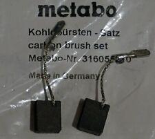 Kohlebürsten Kohlen für Metabo WEV 15-125 QUICK INOX 8x12,5x15mm