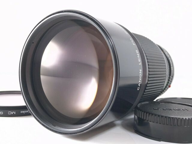 Canon New FD 200mm F2.8 MF Telephoto Prime Lens Excellent
