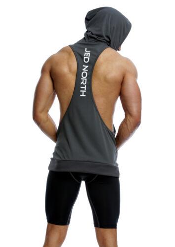 Bodybuilding Stringer Hoodie Tank Top Sleeveless Racer Back Dri Fit Hoodie