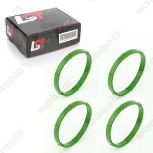 4x INLET INTAKE MANIFOLD GASKET SEAL OUTER FOR VW NEW BEETLE CADDY JETTA PASSAT