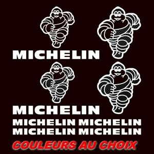 10-Stickers-MICHELIN-Autocollants-Adhesifs-Auto-Moto-Voiture-Sponsor-RALLYE