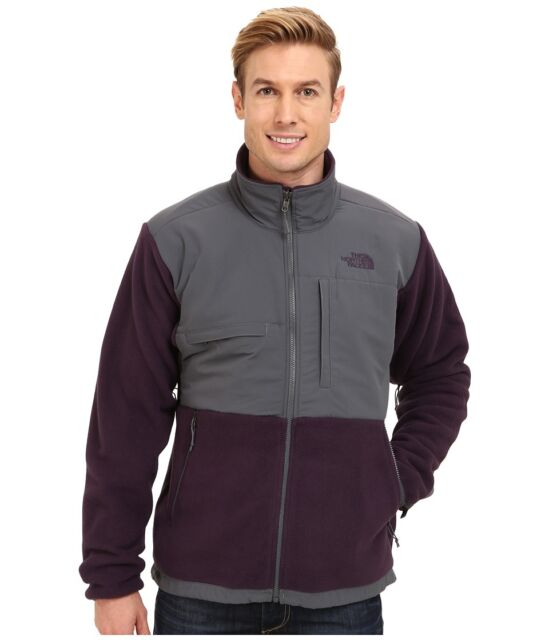 The North Face Classic Denali Fleece Jacket In Eggplant Purple