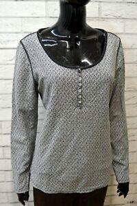 Maglione-Grigio-Donna-TOMMY-HILFIGER-Taglia-XL-Felpa-Pullover-Cardigan-Sweater