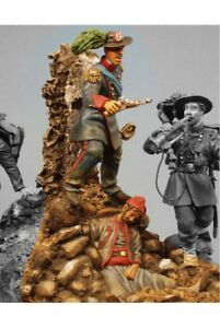 Bersaglieri-Officer-at-Capture-of-Rome-Tin-Painted-Toy-Soldier-Miniature-Art
