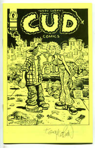 CUD-COMICS-Ashcan-NM-Signed-Terry-LaBan-Underground-1995-more-promos-in-store