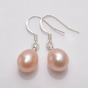 NATURAL-PINK-REAL-PEARL-100-SOLID-925-SILVER-HOOKS-EARRINGS-1-034