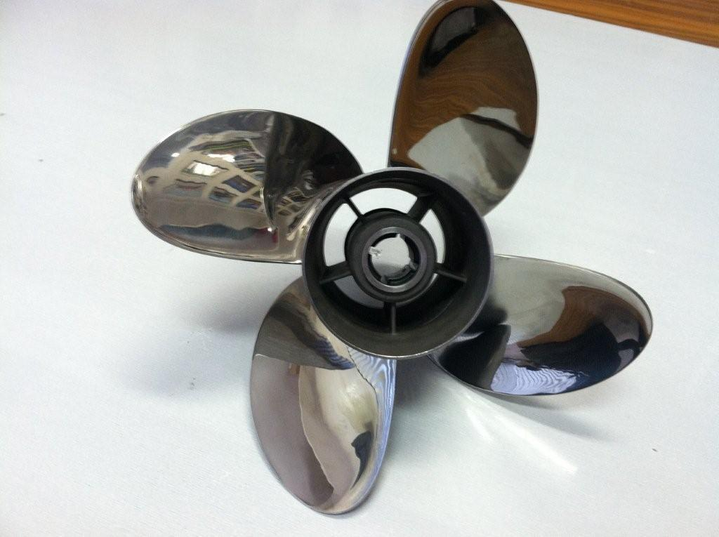 4 Four Blade Stainless Steel Propeller Prop 15x15 by PowerTech
