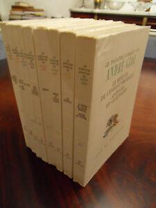 LE-THEATRE-COMPLET-ANDRE-GIDE-edition-Ides-et-calendes-8-vol-1947-1949