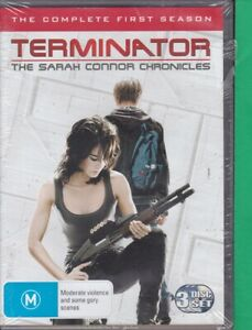 Terminator-The-Sarah-Connor-Chronicles-Season-1-Brand-New-O-DVD-3-Discs