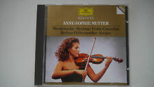 Anne Sophie Mutter - Mendelssohn / Brahms Violin Concertos -  CD