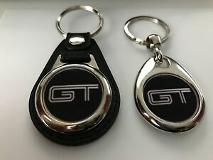 Image Is Loading Ford Mustang Gt Keychain  Pack Black
